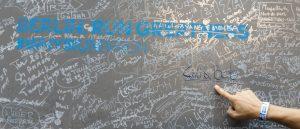 Berlin Marathon Unterschrift
