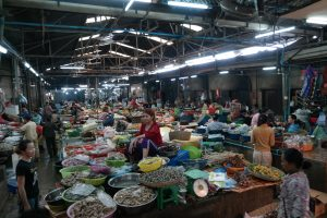 Psar Chas Markt, Siem Reap, Kambodscha