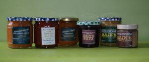 Marmelade, Rote Bete, Kürbismarmelade, Bananenmarmelade, Hagebuttenmarmelade, Sanddornmarmelade